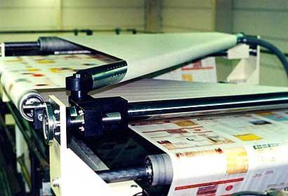 Diese Sonderanfertigung wurde von KHU Sondermaschinen für eine Großdruckerei konstruiert und gefertigt.