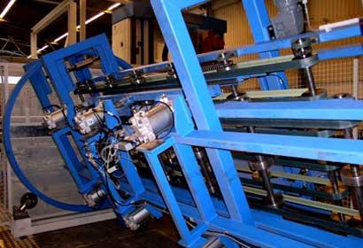 Detailansicht des Manipulators von KHU Sondermaschinen.