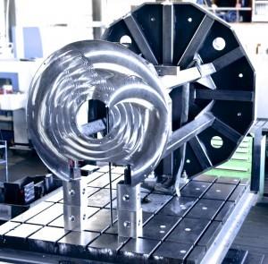 KHU Sondermaschinen Fertigung Bohrwerk