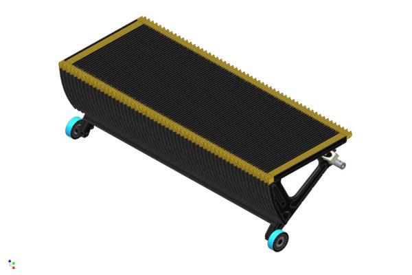Rollltreppenstufe Design von KHU Sondermaschinen