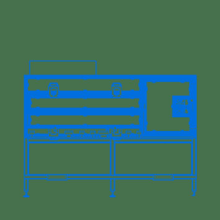 Schneideeinheit Layout CAD