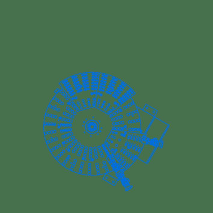 Steckerzufuehrung Layout CAD